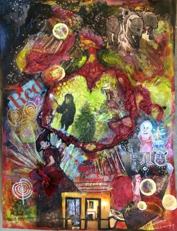 Collage Exploration, Triple
